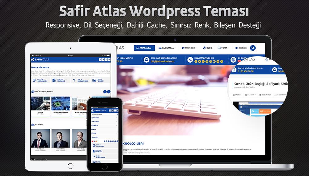 Safir Atlas WordPress Teması