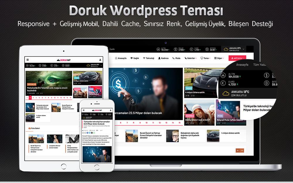 Doruk Wordpress Teması