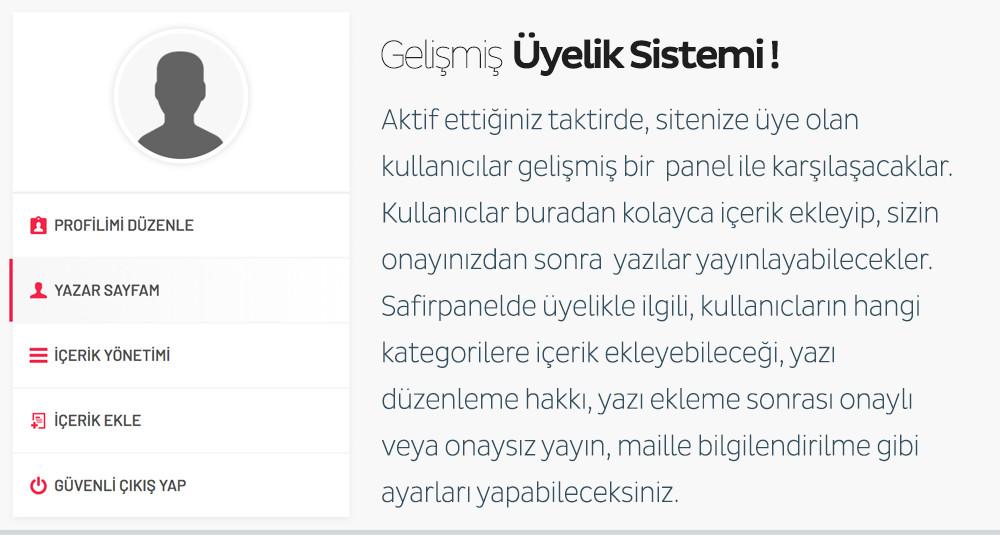 Safir Doruk WordPress Teması