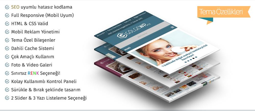 Gölge Wordpress Teması