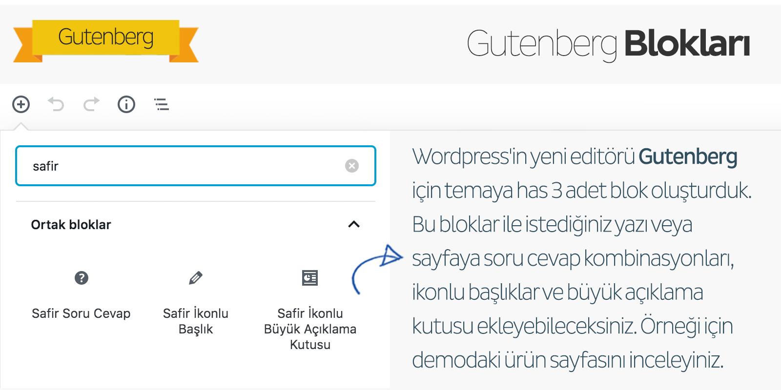 Safir Maya WordPress Teması