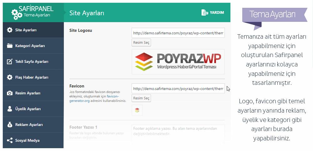 Poyraz Wordpress Teması