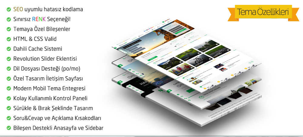 Safir Pusula WordPress Teması