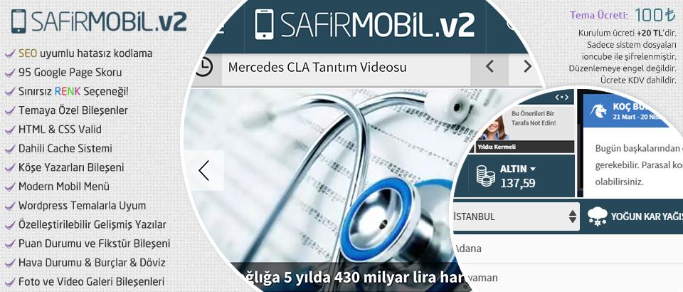 Safirmobilv2 Wordpress Teması