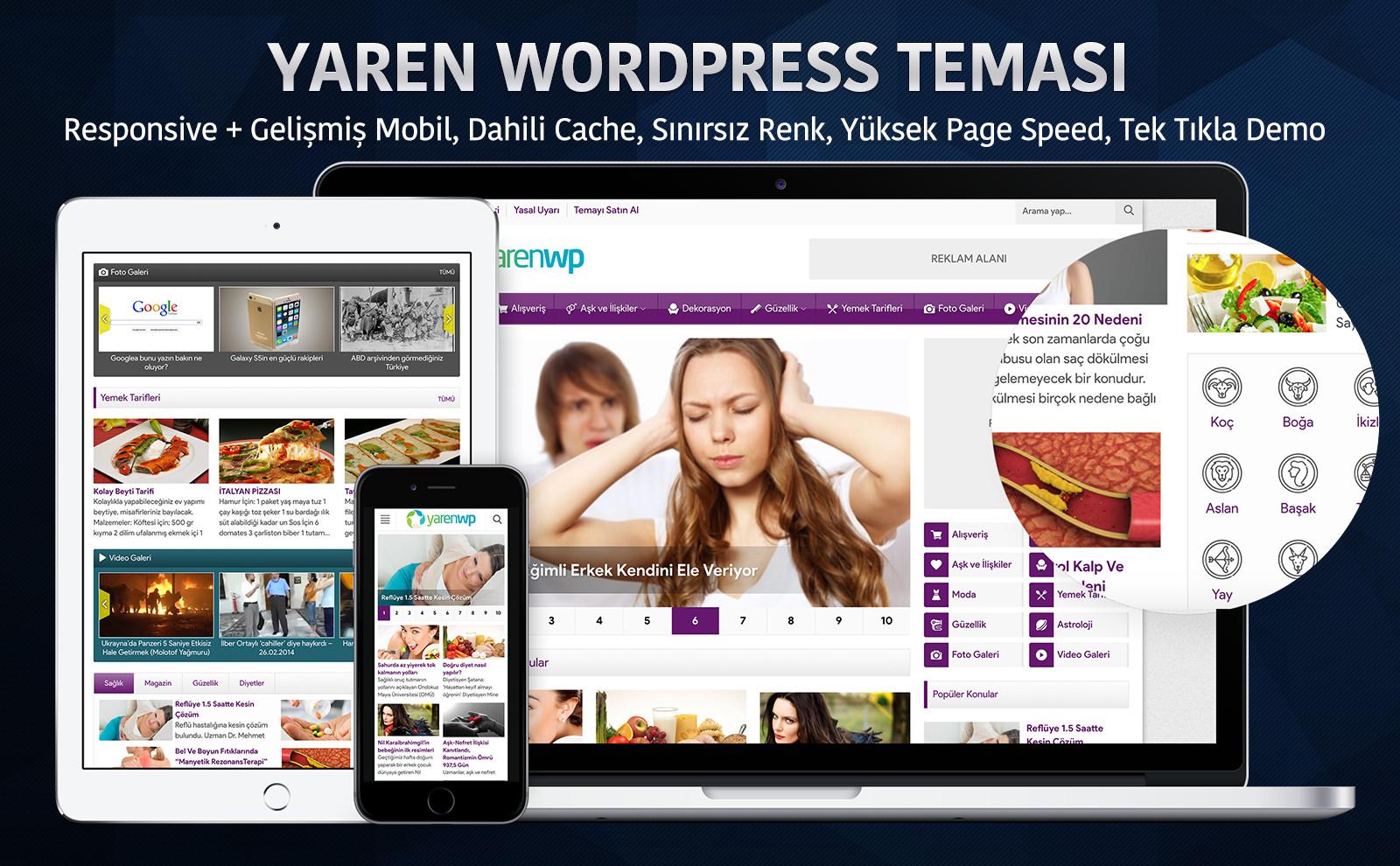 Yaren Wordpress Teması