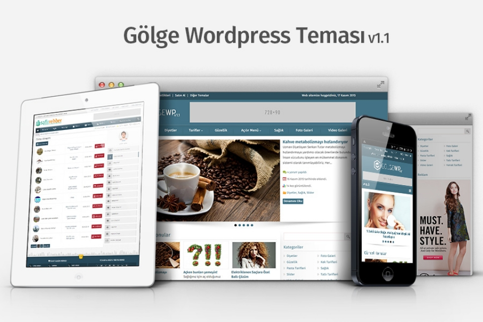 Gölge Wordpress Teması v1.1