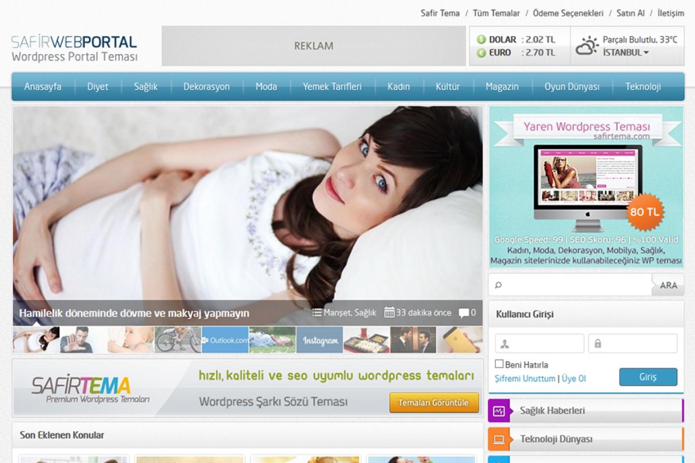 Webportal Wordpress Teması
