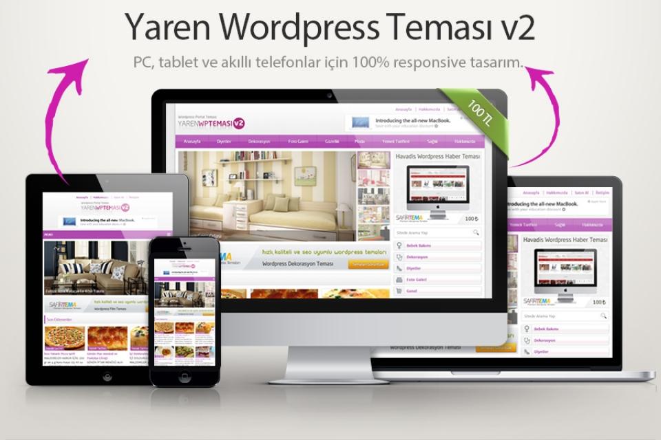 Yaren.v2 Wordpress Teması