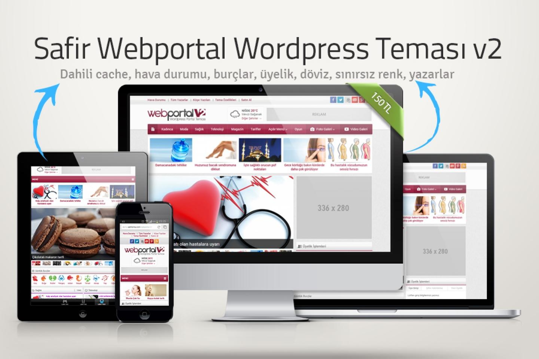 Webportal.v2 Wordpress Teması
