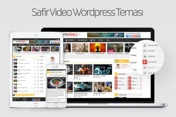 Safir Video Wordpress Teması