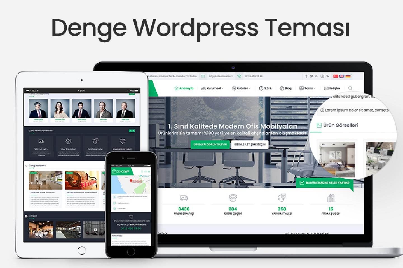 Denge Wordpress Teması