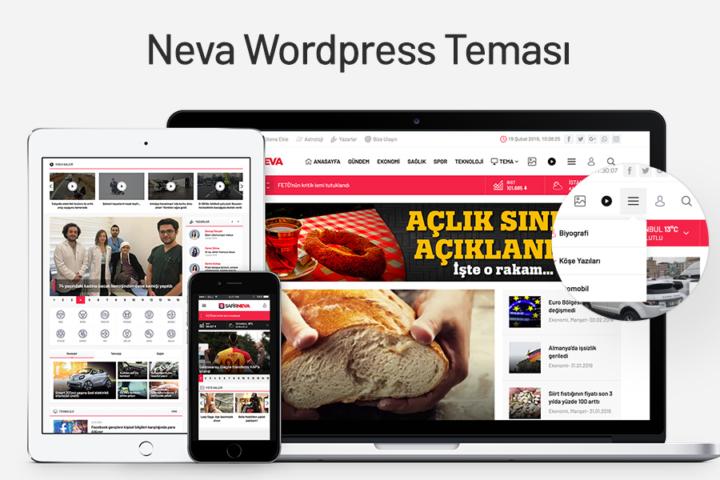 Neva Wordpress Teması