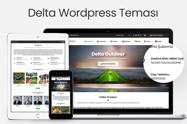 Delta Wordpress Teması